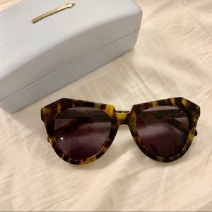 Karen Walker Tortoise Number One Sunglasses